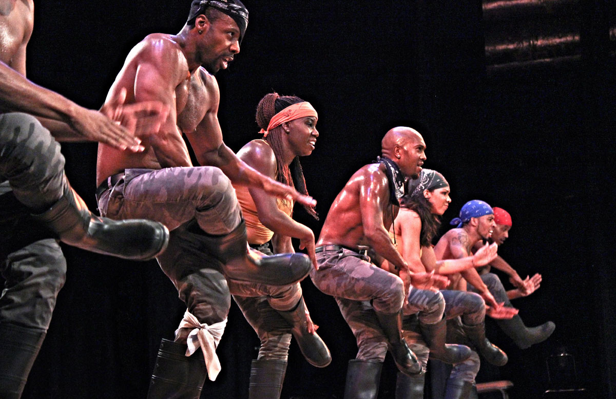 Step Afrika!© and courtesy of Step Afrika! (Click image for larger version)