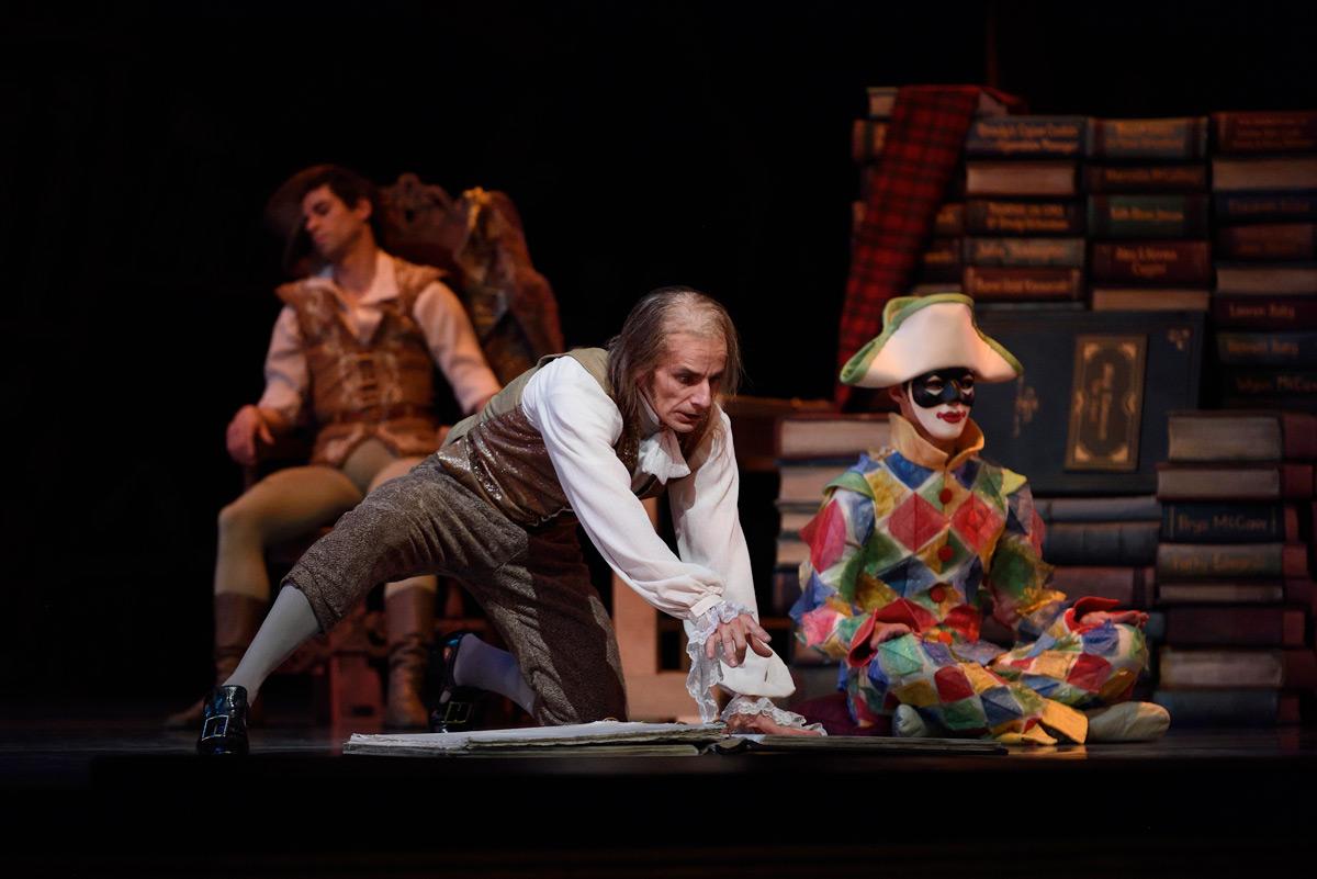 Pascal Molat in Balanchine's <I>Coppélia</I>.<br />© Erik Tomasson. (Click image for larger version)