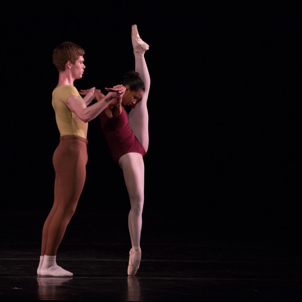 Juilliard Dance in Jerome Robbins' <I>Moves</I>.<br />© Rosalie O'Connor. (Click image for larger version)