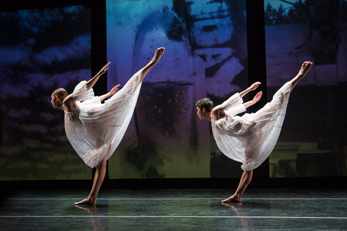 Cori Kresge and Emily Stone in Glacial Decoy.© Yi-Chun Wu. (Click image for larger version)