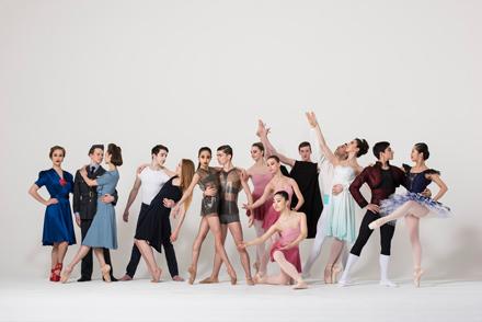 Ballet Central 2016 Tour - group photo.<br />© Bill Cooper. (Click image for larger version)