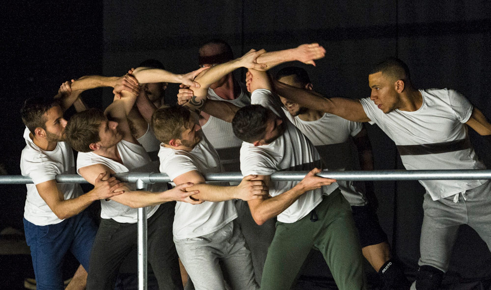 BalletBoyz in Javier De Frutos' Fiction.© Foteini Christofilopoulou. (Click image for larger version)