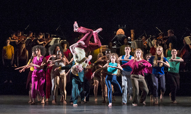 National Youth Dance Company in Michael Keegan-Dolan's <I>In – Nocentes</I>.<br />© Foteini Christofilopoulou. (Click image for larger version)