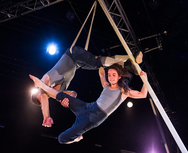 Alex Harvey and Emily Nicholl in <I>Tipping Point</I>.<br />© Foteini Christofilopoulou. (Click image for larger version)