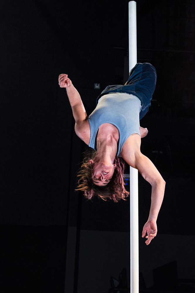 Telma Pinto in <I>Tipping Point</I>.<br />© Foteini Christofilopoulou. (Click image for larger version)