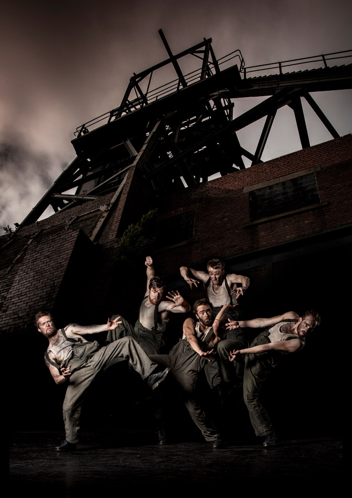 Gary Clarke Company in Coal.© Joe Armitage. (Click image for larger version)