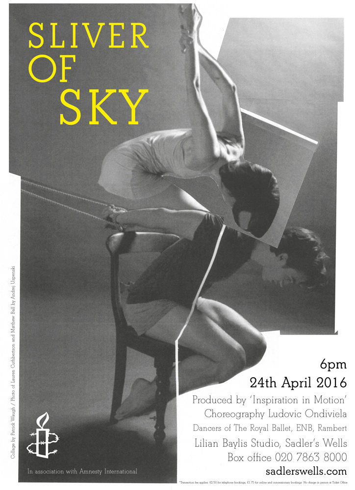 Poster for <I>Sliver of Sky</I>.<br />Image © Andrej Uspenski. (Click image for larger version)