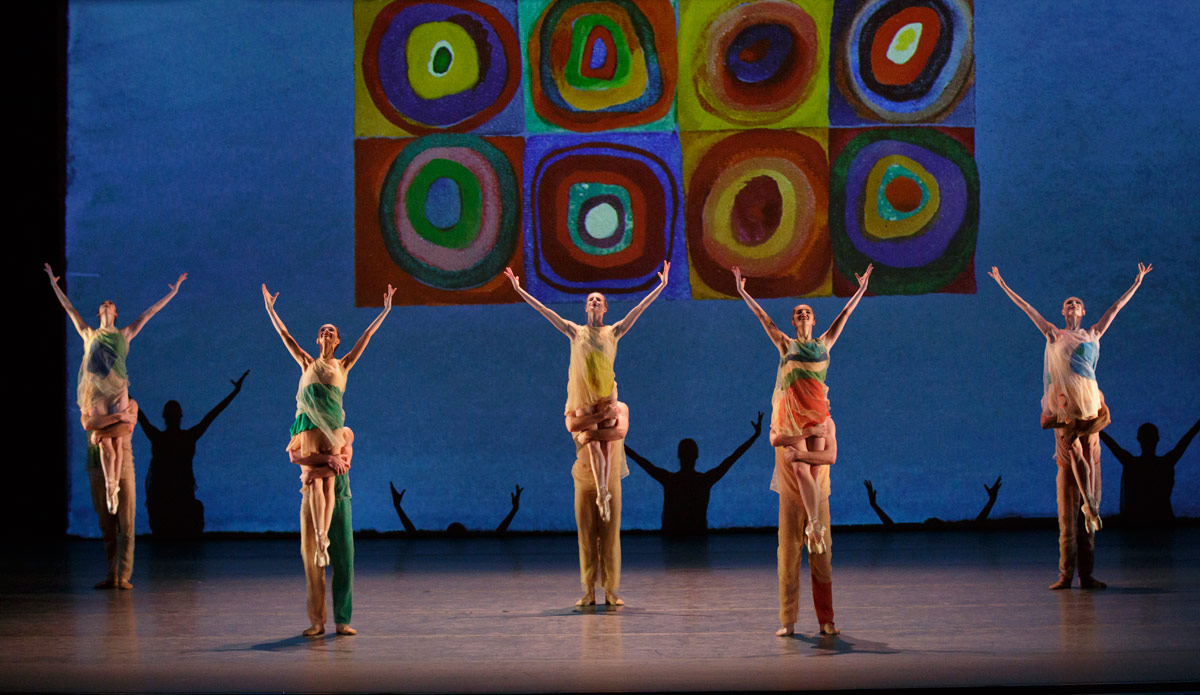 New York City Ballet in <I>Pictures at an Exhibition</I>.<br />© Paul Kolnik. (Click image for larger version)