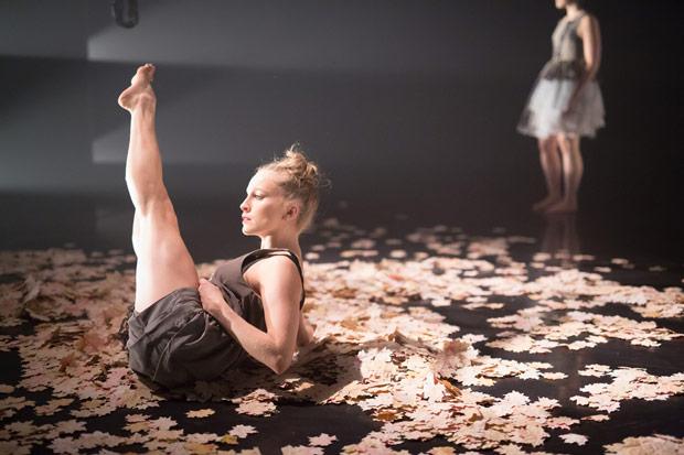 Angela Boix Duran in Caroline Finn's Folk.© Rhys Cozens. (Click image for larger version)