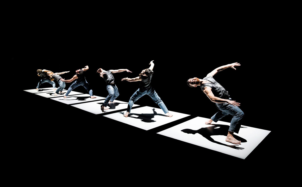 NDCWales in Alexander Ekman's <I>Tuplet</I>.<br />© Rhys Cozens. (Click image for larger version)