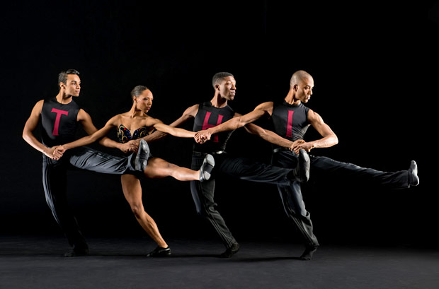 Dance Theatre of Harlem in Nacho Duato's <I>Coming Together</I>.<br />© Rachel Neville. (Click image for larger version)