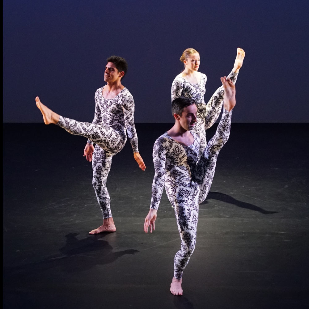 Mark Morris Dance Group in A Forest.© Ani Collier. (Click image for larger version)