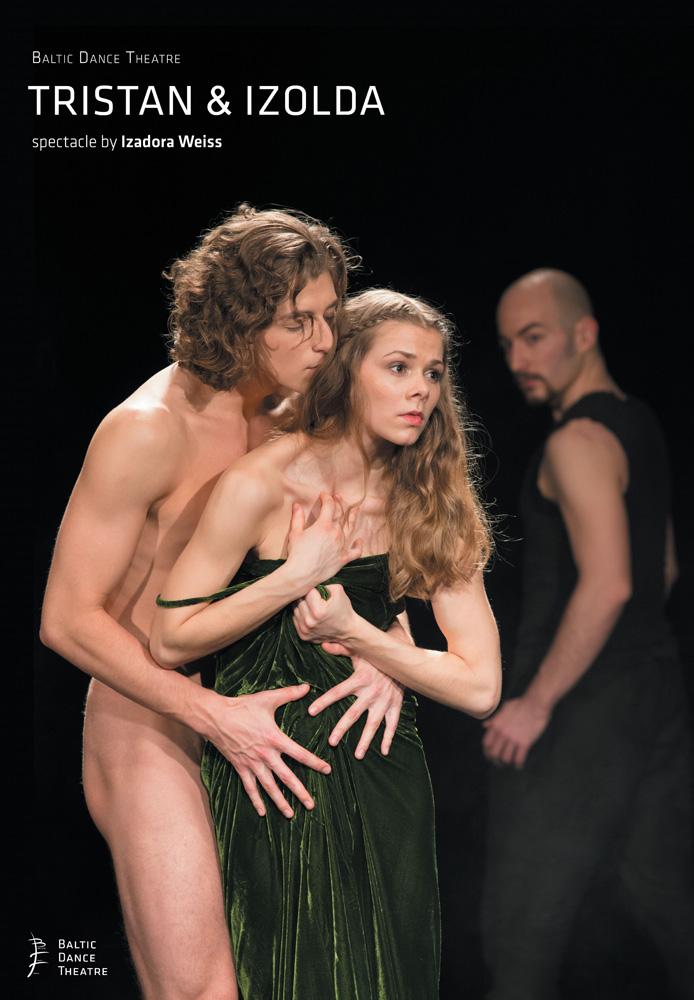 Poster for Tristan & Izolda.© Baltic Dance Theatre. (Click image for larger version)