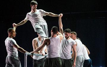 BalletBoyz in Javier De Frutos' Fiction.© Foteini Christofilopoulou. (Click image for larger version)