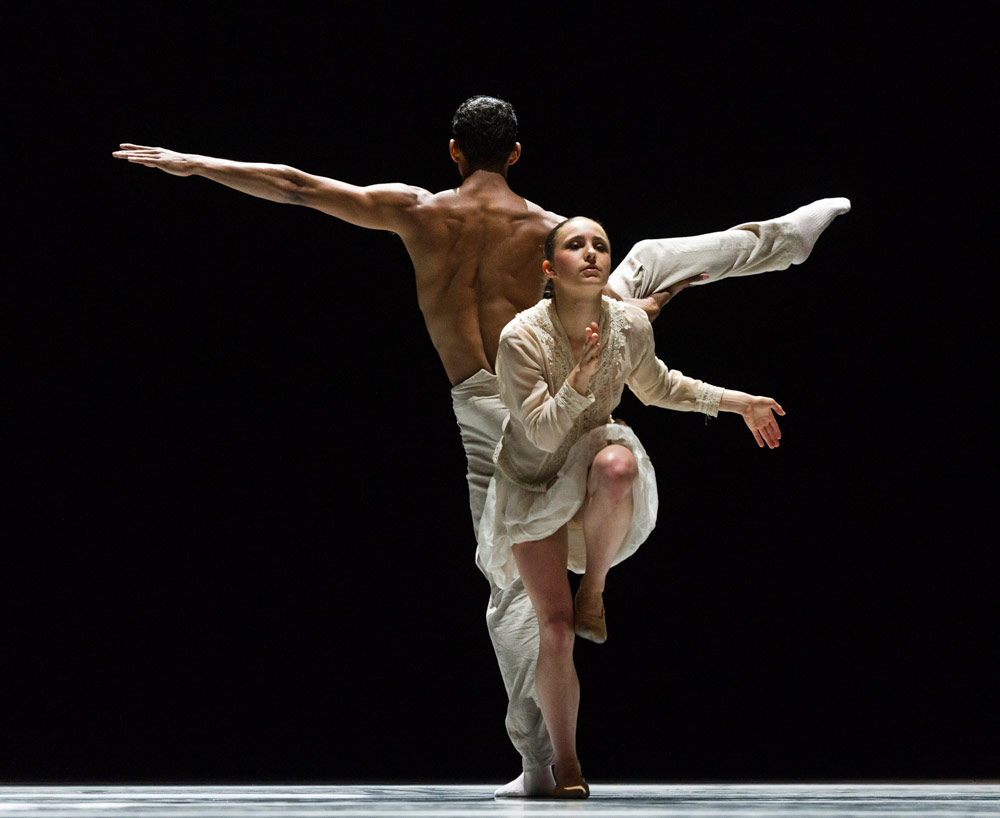 Katarina van den Wouwer and Alexander Anderson in Schubert.© Foteini Christofilopoulou. (Click image for larger version)