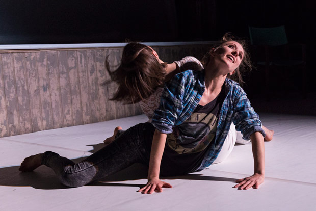 Katie Lusby and Clemmie Sveaas in Wayne Parsons' <I>A Vestige</I>.<br />© Foteini Christofilopoulou. (Click image for larger version)