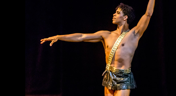 Carlos Acosta as Actaeon.<br />© Johan Persson. (Click image for larger version)