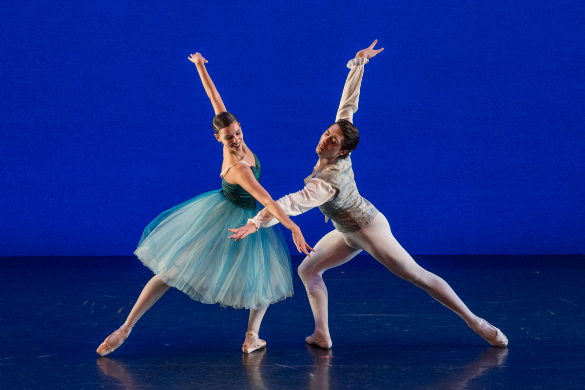 Shaina Wire and Sergio Arranz in Valse Fantaisie.© Lucas Chilczuk. (Click image for larger version)