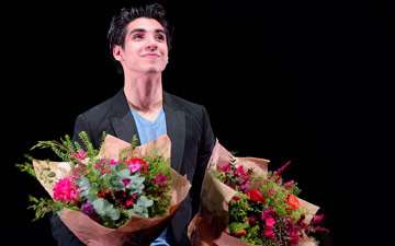 Cesar Corrales, winner of the Emerging Dancer and People's Choice Awards.© Laurent Liotardo. (Click image for larger version)