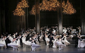 New York City Ballet in Vienna Waltzes.© Paul Kolnik. (Click image for larger version)