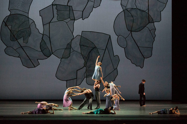 American Ballet Theatre in <I>Chamber Symphony</I> part of <I>Shostakovich Trilogy</I>. © Rosalie O'Connor. (Click image for larger version)