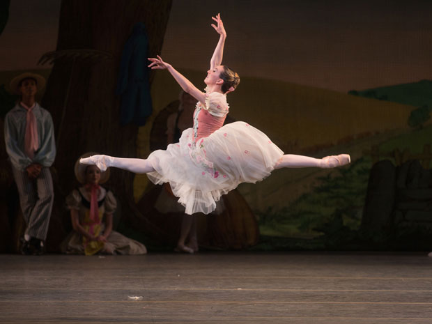 Isabella Boylston in La Fille mal gardée.© Rosalie O'Connor. (Click image for larger version)