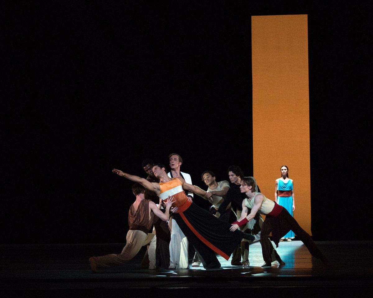 American Ballet Theatre in Ratmansky's <I>Serenade after Plato's Symposium</I>.<br />© Rosalie O'Connor. (Click image for larger version)