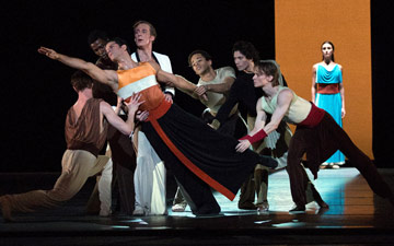 American Ballet Theatre in Ratmansky's Serenade after Plato's Symposium.© Rosalie O'Connor. (Click image for larger version)