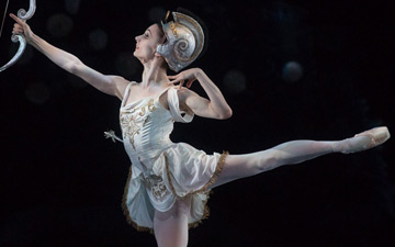 Maria Kochetkova in Ashton's Sylvia.© Rosalie O'Connor. (Click image for larger version)