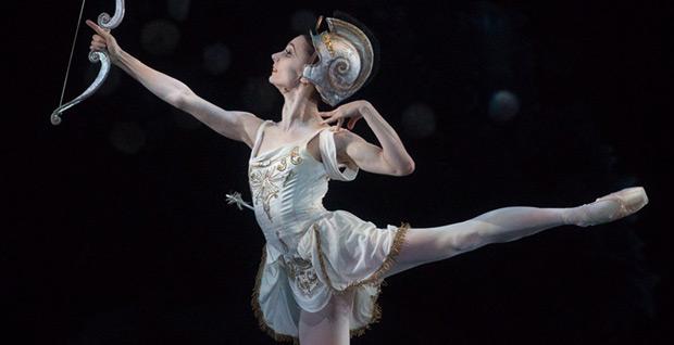Maria Kochetkova in Ashton's <I>Sylvia</I>.<br />© Rosalie O'Connor. (Click image for larger version)