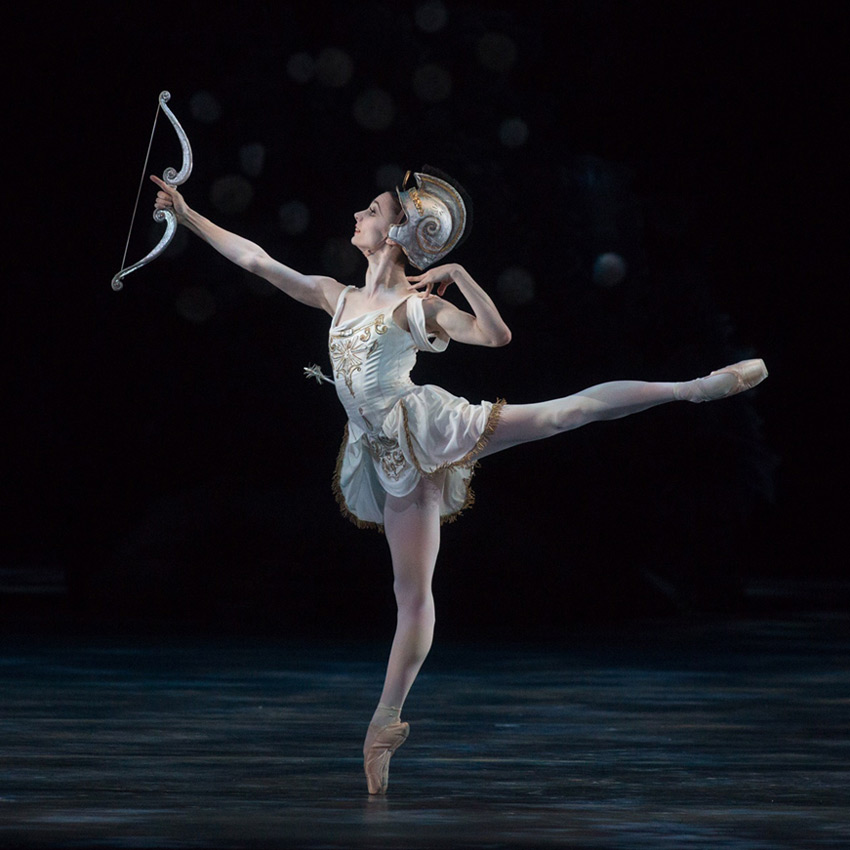 Maria Kochetkova in Ashton's <I>Sylvia</I>.<br />© Rosalie O'Connor. (Click image for larger version)