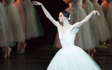 Svetlana Lunkina in Giselle.© Aleksandar Antonijevic. (Click image for larger version)