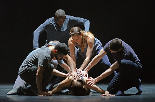 Crystal Pite and Jonathon Young's <I>Betroffenheit</I>.<br />© Dave Morgan. (Click image for larger version)