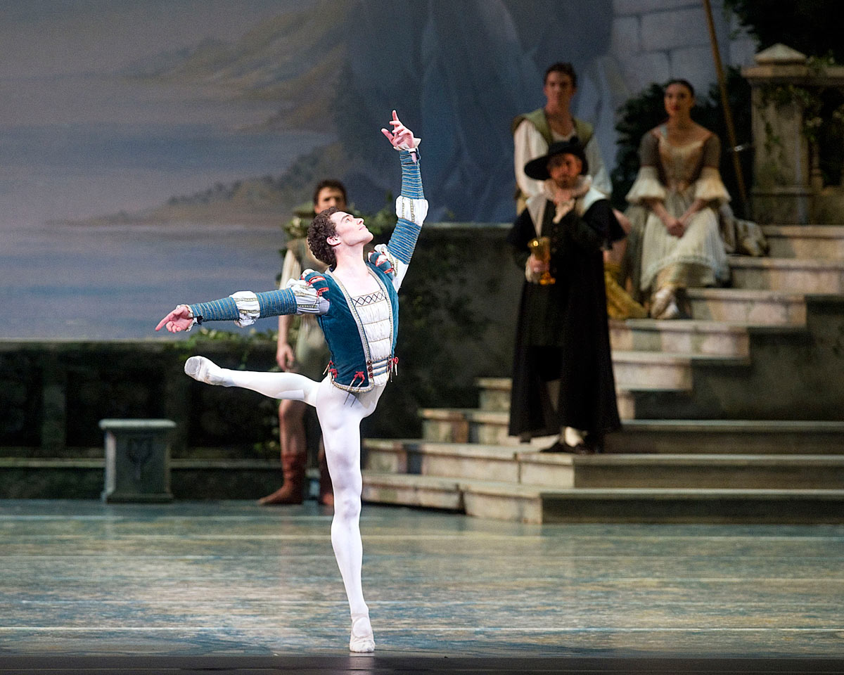 Cory Stearns in Swan Lake.© Gene Schiavone. (Click image for larger version)