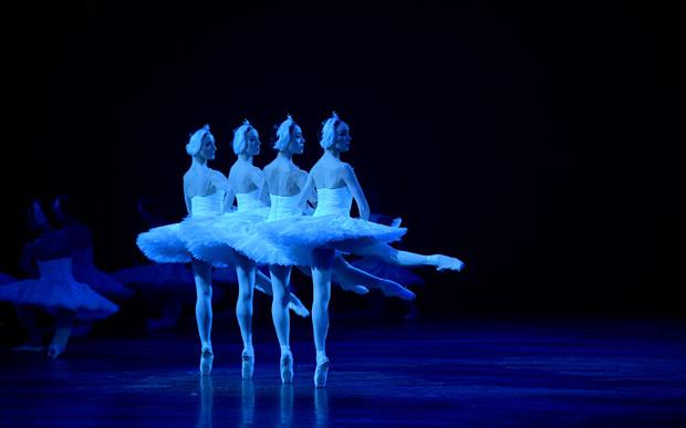 English National Ballet in <I>Swan Lake</I>.<br />© Laurent Liotardo. (Click image for larger version)
