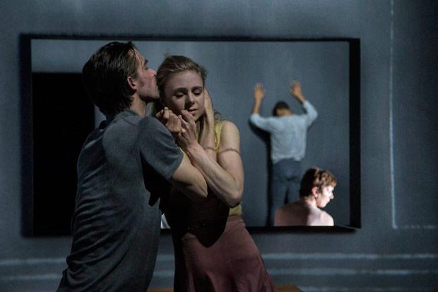 Royal Danish Ballet in Kim Brandstrup's <I>Shaken Mirror</I>.<br />© Per Morten Abrahamsen. (Click image for larger version)