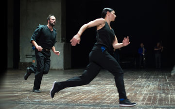 Anne Teresa De Keersmaeker's Vortex Temporum.© Anne Van Aerschot. (Click image for larger version)