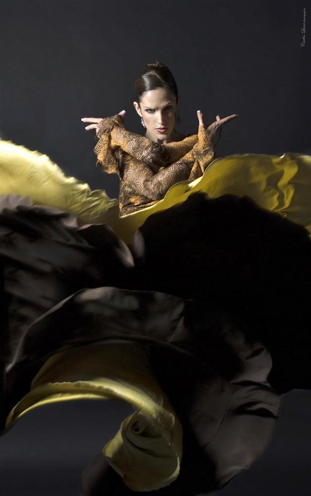 Maria Vega in poster image for A Dancer's Journey.© Carlos Luna. (Click image for larger version)