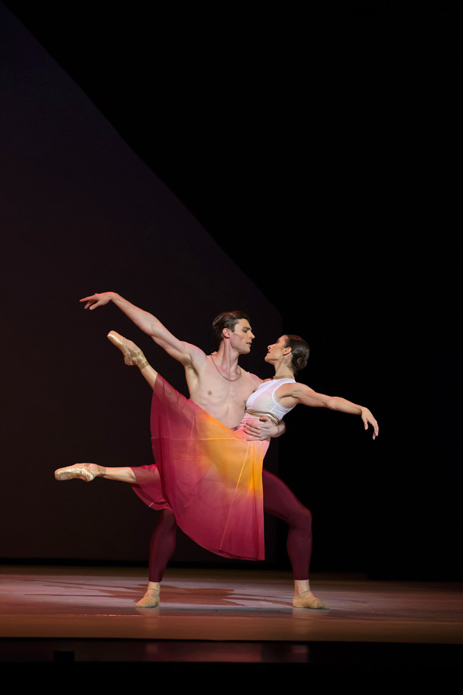 Laura Hidalgo and Joel Woellner in Ma Cong's In the Best Moments.© David Kelly. (Click image for larger version)