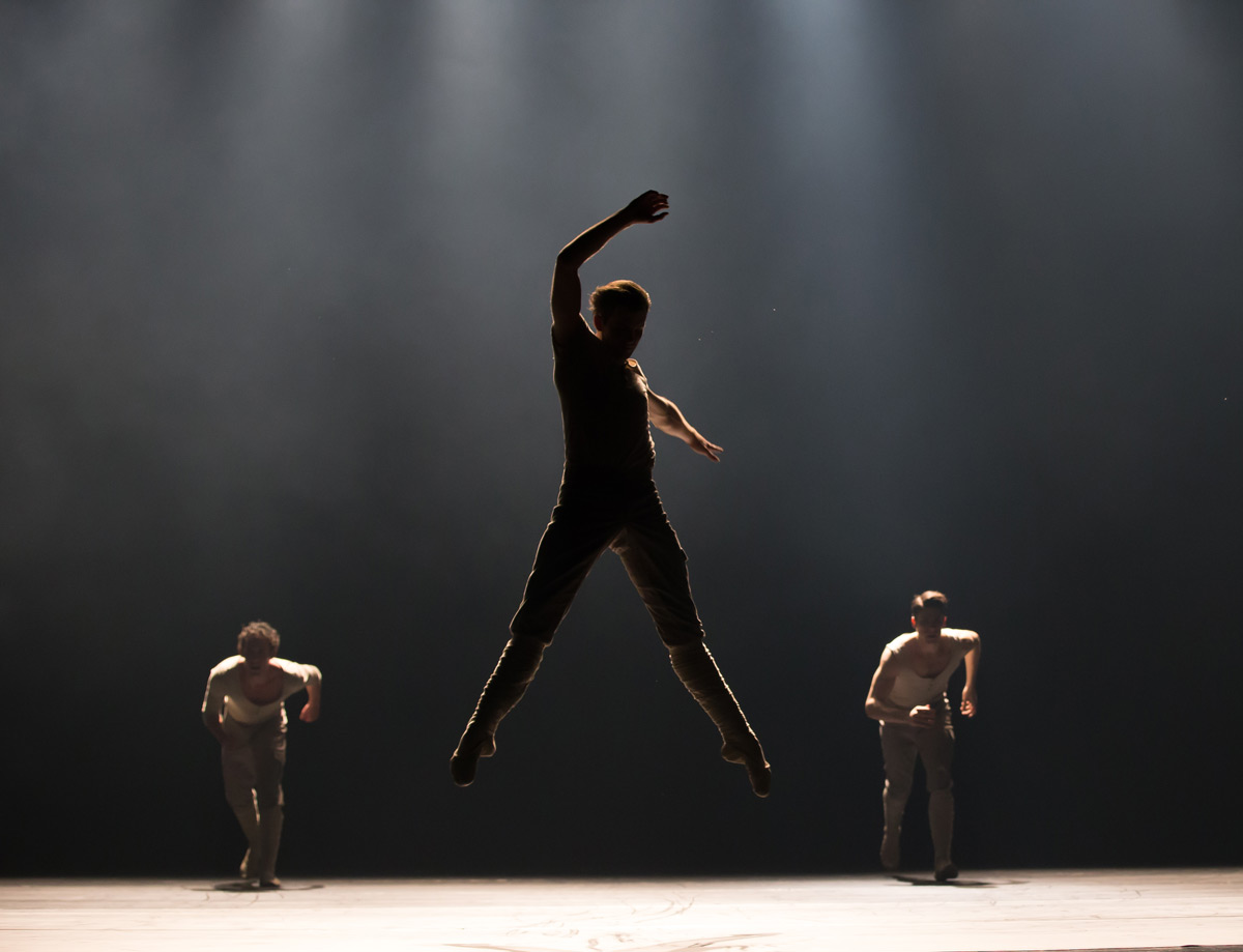 Shane Wuerthner in Natalie Weir's We who are left.© David Kelly. (Click image for larger version)