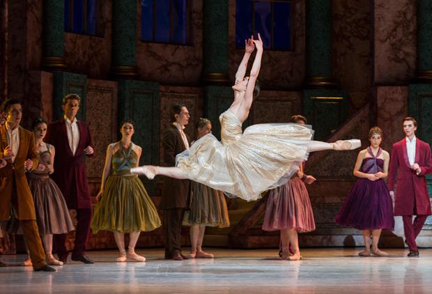 Amber Scott in <I>Cinderella</I>.<br />© Foteini Christofilopoulou. (Click image for larger version)