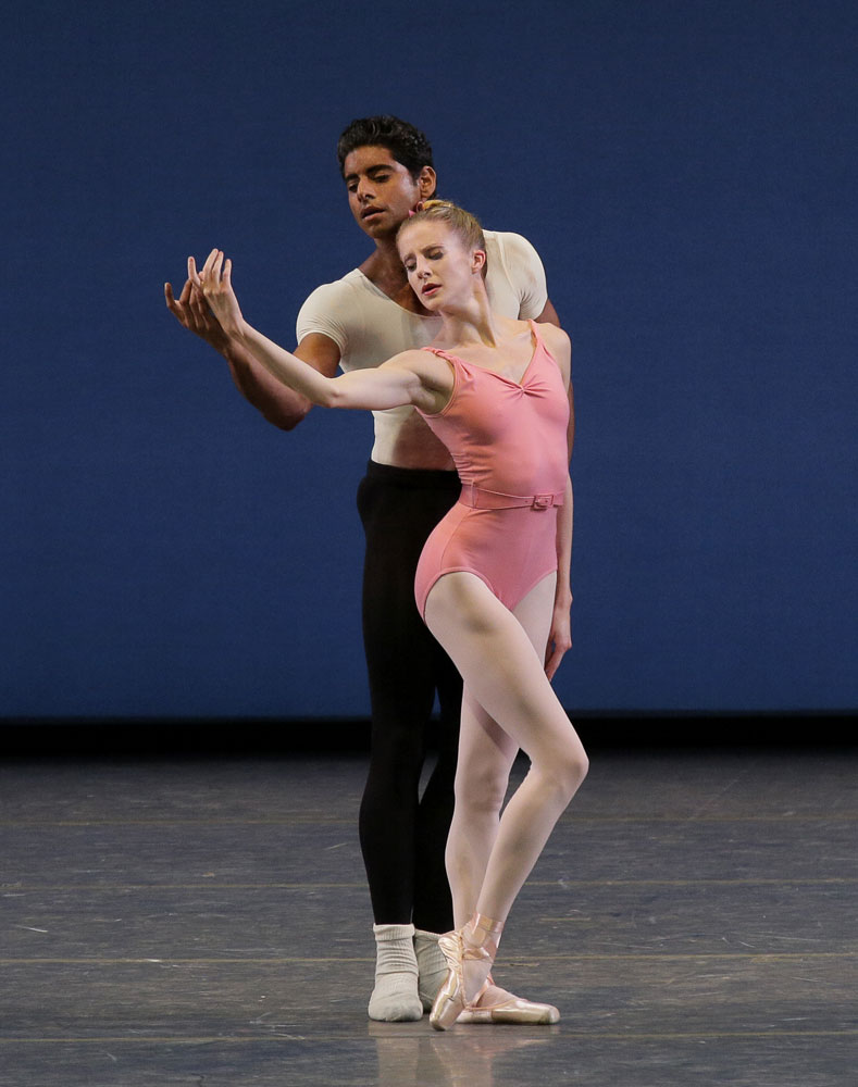 Sterling Hyltin and Amar Ramasar in Symphony in Three Movements.© Paul Kolnik. (Click image for larger version)