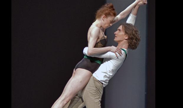Ekaterina Krysanova and Vladislav Lantratov in <I>Taming of the Shrew</I>.<br />© Dave Morgan. (Click image for larger version)