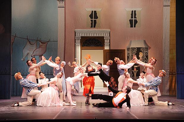 Sarasota Ballet in Frederick Ashton's <I>Facade</I>.<br />© Frank Atura. (Click image for larger version)