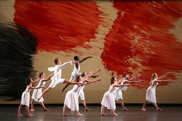 Mark Morris Dance Group in <I>Mozart Dances</I>.<br />© Richard Termine. (Click image for larger version)
