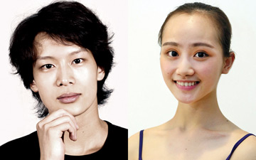 Wu Husheng and Qi Bingxue.© Shanghai Ballet. (Click image for larger version)