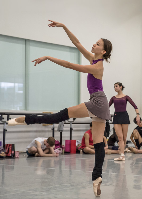 May Yen Cheah in rehearsal for the <I>Masterpiece in Motion 2016</I> bill.<br />© Stephen Wright. (Click image for larger version)