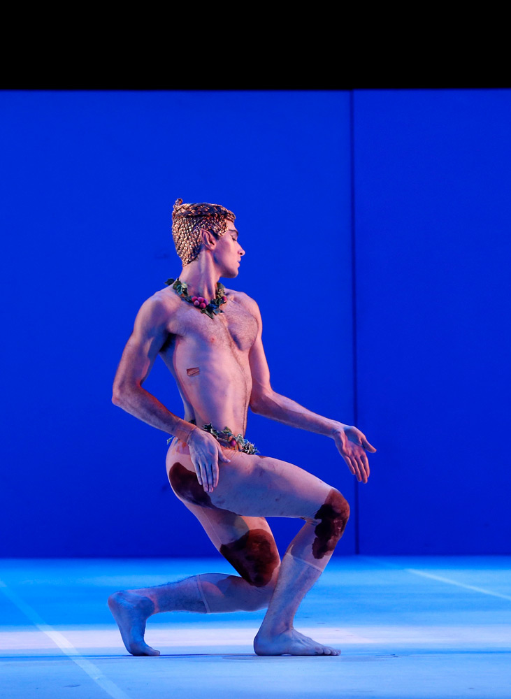Cristiano Martino in <I>Nijinsky</I>.<br />© Jeff Busby. (Click image for larger version)