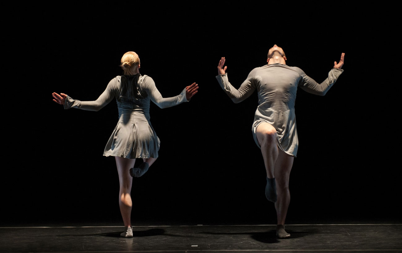 Shelley Eva Haden and Oliver Russell in Double Points: K.© Katja Ogrin. (Click image for larger version)