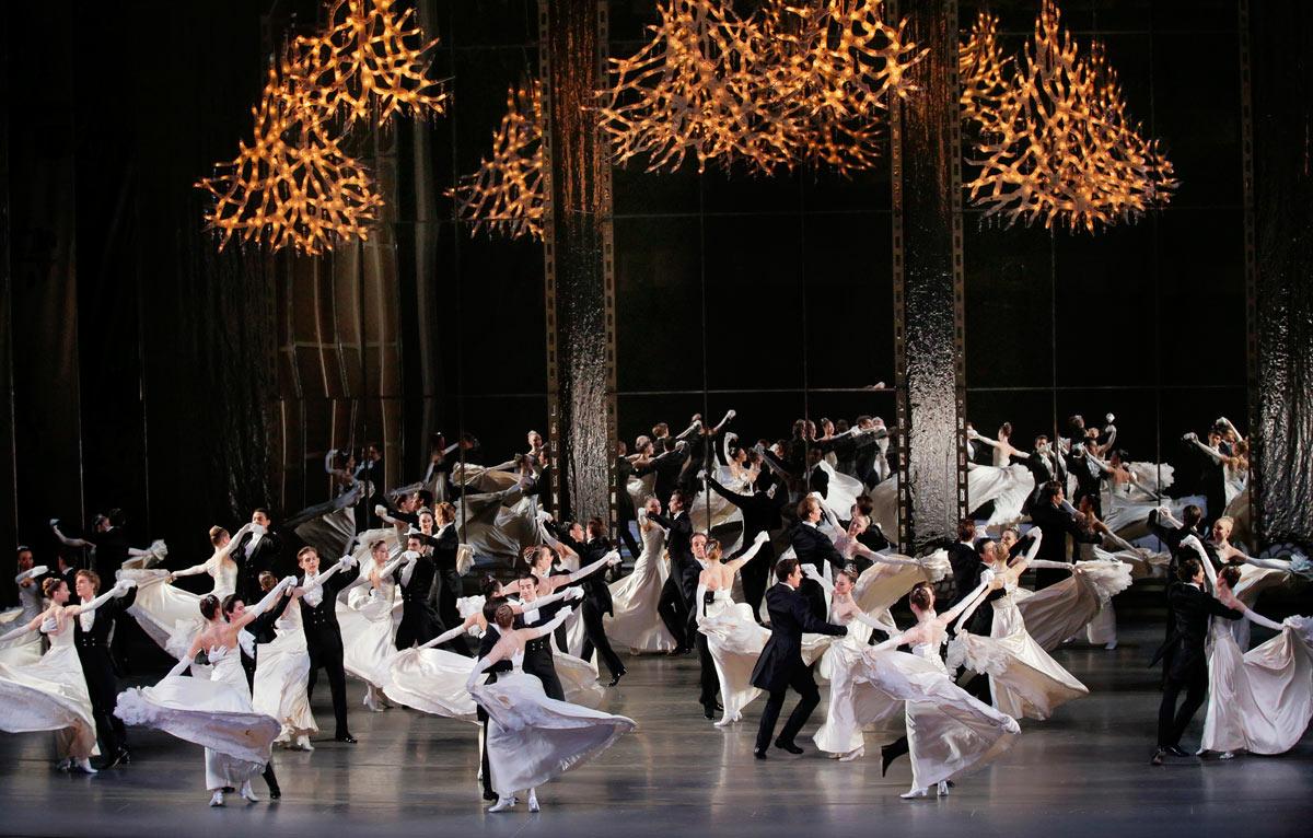 New York City Ballet in Vienna Waltzes.© Paul Kolnik. (Click image for larger version)